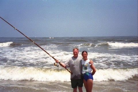 Summer rental beach house for Oregon inlet bridge fishing report